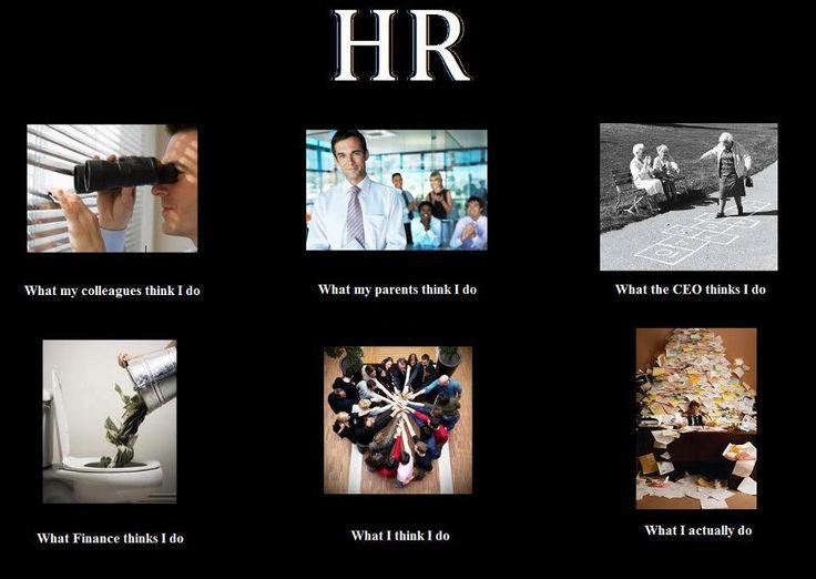 Human Resources: What I actually do  Haha