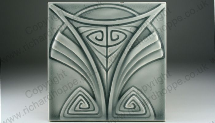Art Nouveau & Art Deco Tiles. German, Wessel. This item is sold. To visit my website to see what's in stock click here: http://www.richardhoppe.co.uk or for help or information email us here: info@richardhoppe.co.uk