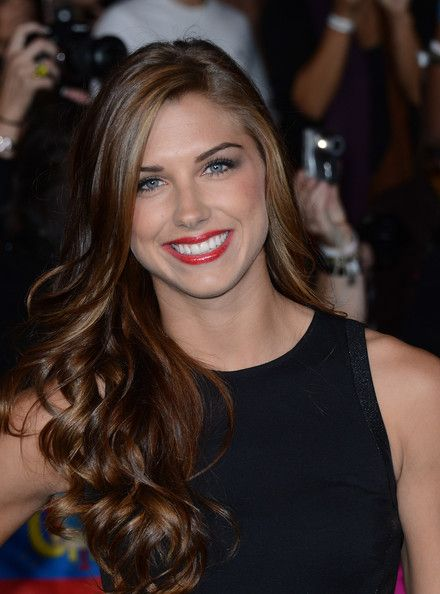 Alex Morgan at the premiere of 'The Twilight Saga: Breaking Dawn - Part 2,' Nokia Theatre L.A. Live, Los Angeles, Nov. 12, 2012. (Jason Merritt/Getty Images)