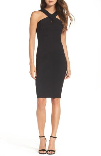 Free shipping and returns on Felicity & Coco Maria Ponte Sheath Dress (Nordstrom Exclusive) at Nordstrom.com. Flaunt strong shoulders in an architecturally tailored sheath that crisscrosses at they keyhole neckline for maximum impact.