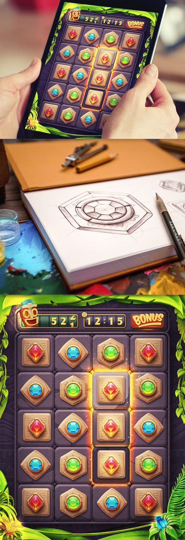 iOS Game / Match3!: