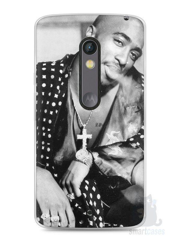 Capa Capinha Moto X Play Tupac Shakur #3 - SmartCases - Acessórios para celulares e tablets :)