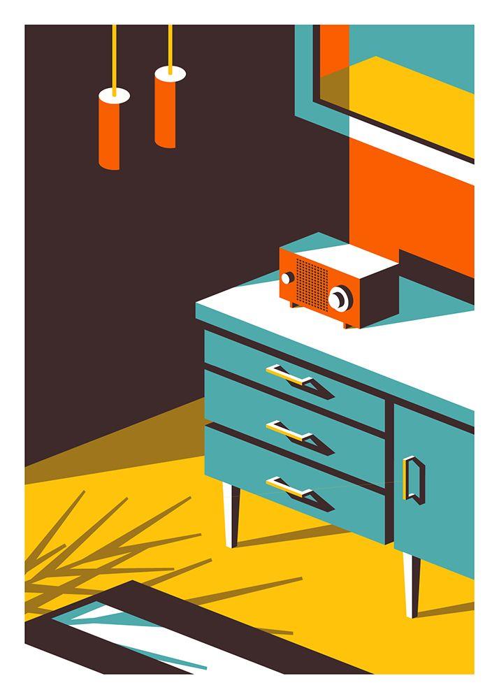 Colorful Cartoon Illustrations by Jeremy Booth – Fubiz Media