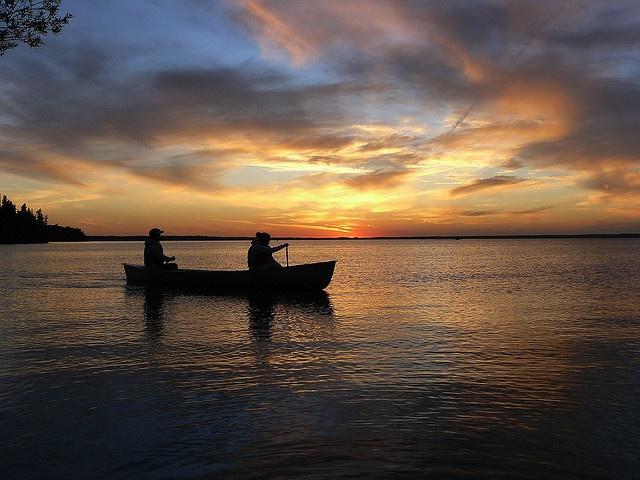 Clear Lake Sunset, Riding Mountain National Park (RMNP), Manitoba Canada.