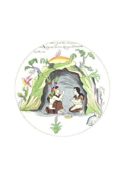 Mexican print aztec kids  rooms