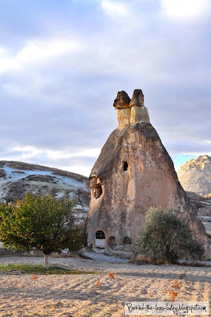Goreme, Turkey - Stayed in a hotel where the rooms were caves. Damn good food there too with some sort of beef, tomato, veggies thing served on a hot iron skillet.
