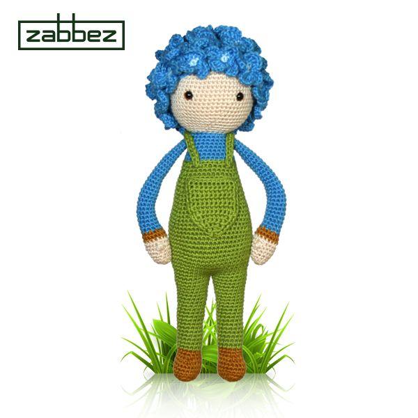 144 best Zabbez crochet flower dolls images on Pinterest
