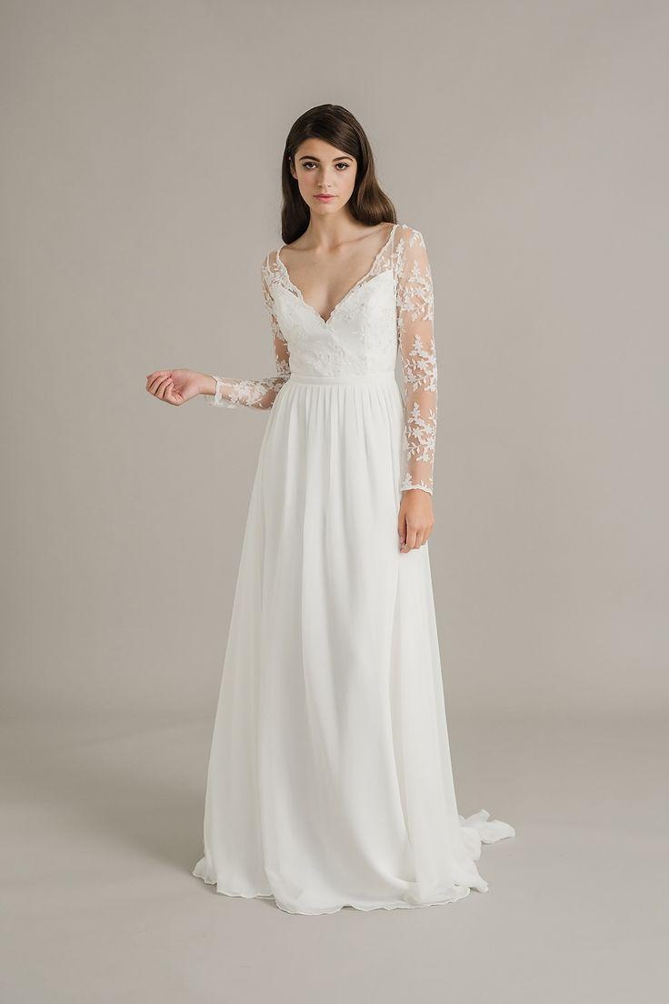 Sally Eagle lace sleeve wedding dress, Siena