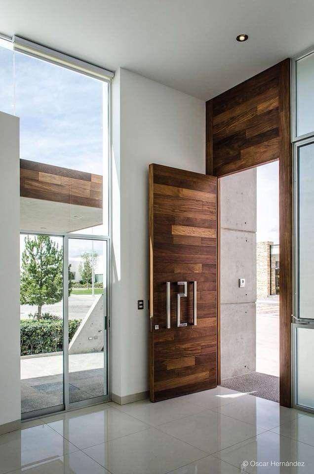 Pin By Mod Wood Art On Door Door Design Modern Wood Doors