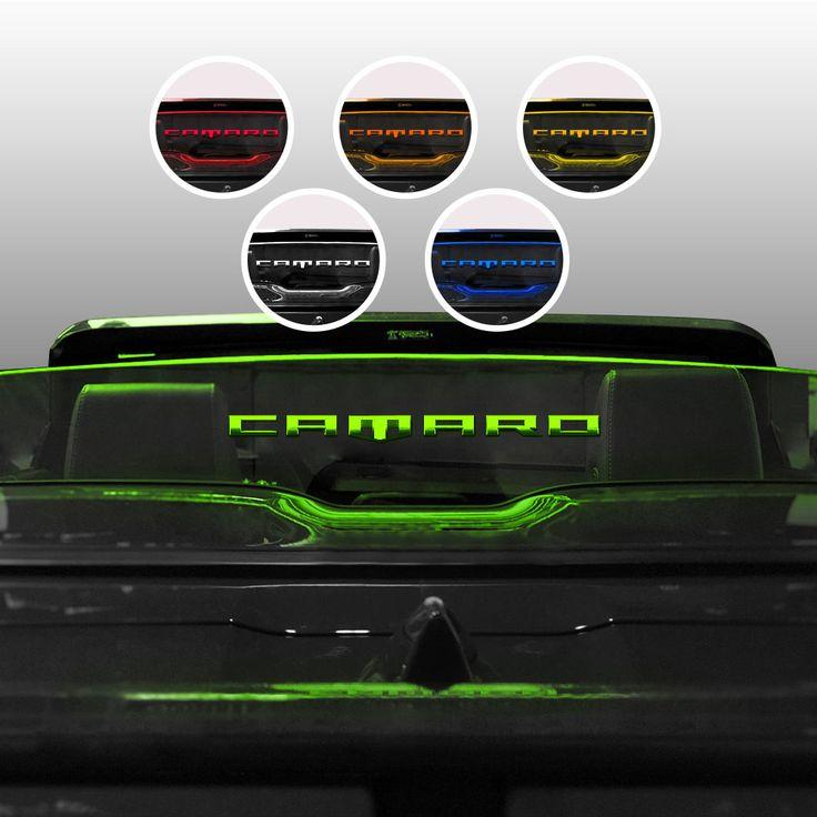 2019 Camaro Six Convertible Wind Restrictor