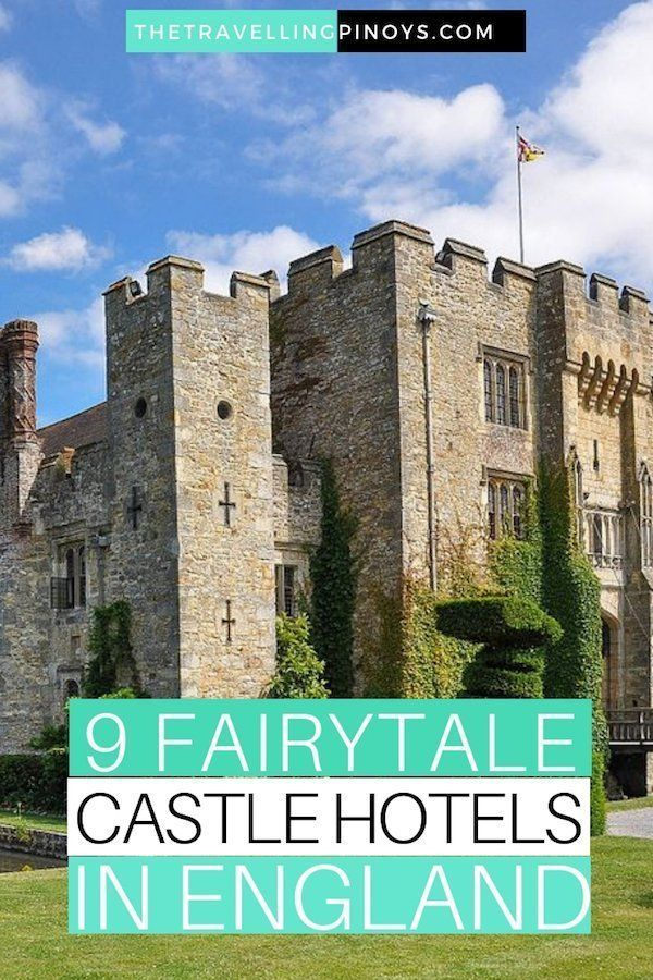9 Amazing Castle Hotels In England