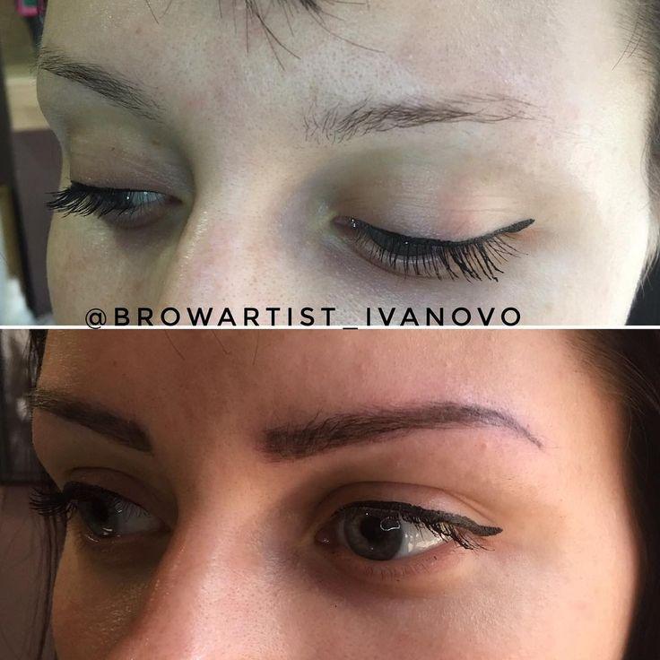 Преображение взгляда? С обновлёнными бровями это легко! Перманентный макияж бровей в ручной технике теневой растушёвки ��  http://ameritrustshield.com/ipost/1556569633754360214/?code=BWaC9W4FqmW
