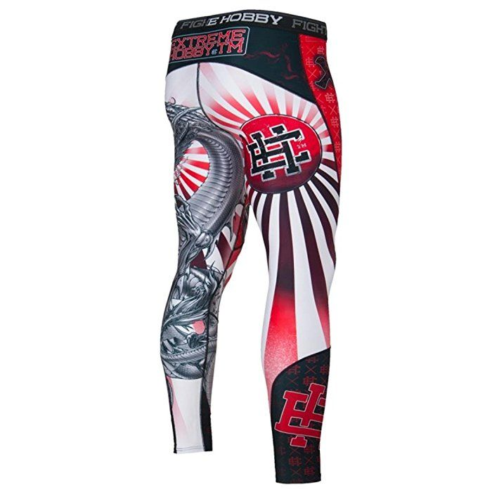 Yakuza Mens Compression Leggings. Extreme Hobby Durability & Rivalry. MMA Fightwear. Training. Martial Arts (size Small)
