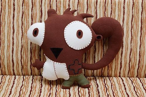squirrelio:  Teddy Bears, Toys Creatures
