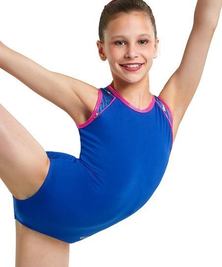 dfa5b39bb Aerials by Alpha Factor Royal True Blue Leotard - Girls