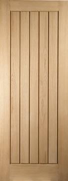 Oregon Oak Cottage - wide range of doors