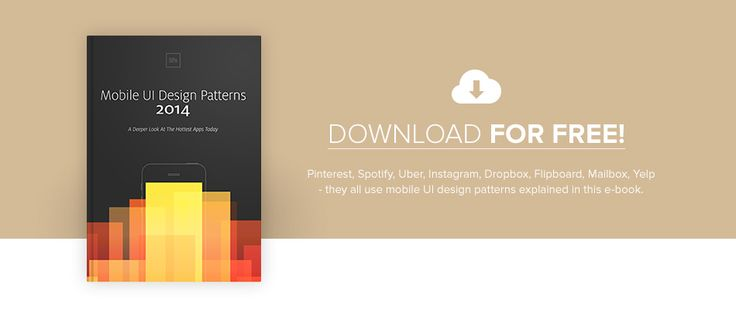 Mobile UI Design Trends 2014. Free E-book By UXPin
