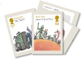 The UK's official Roald Dahl stamps