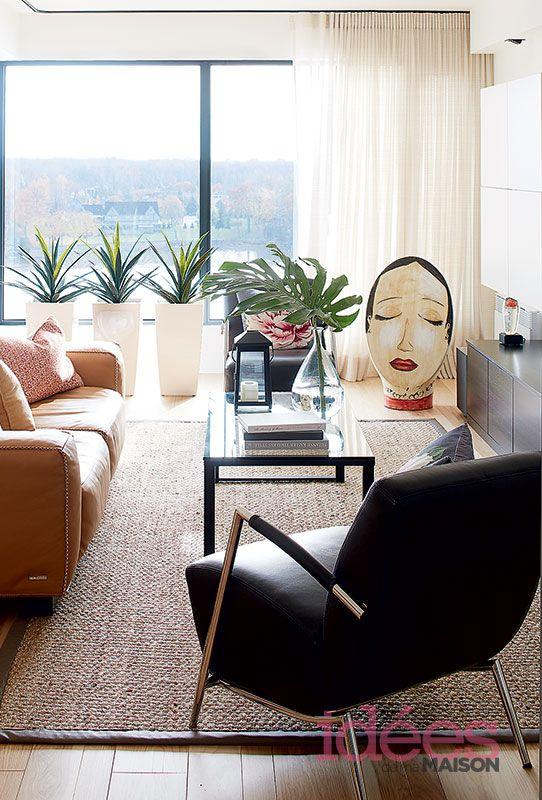 1000 images about salons on pinterest deco design shop and tables - Salon Moderne Etchaleureux