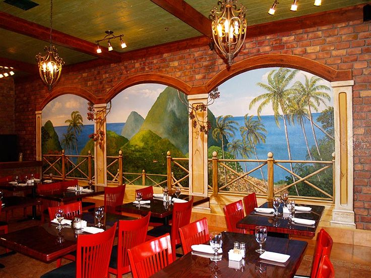 11 best images about commercial murals decorative for Mural restaurant