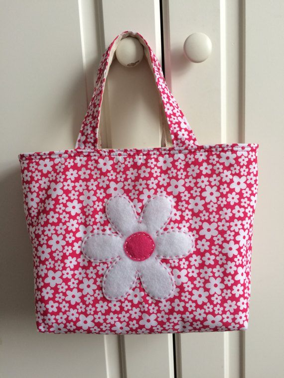 Personalised Daisy bag personalised child's bag
