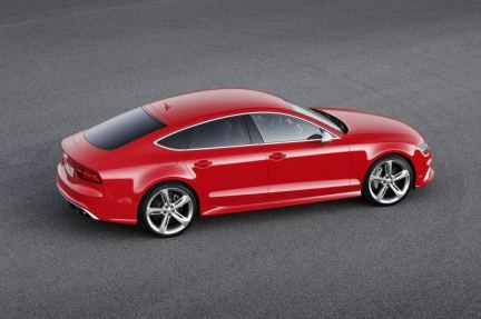 2015 Red Audi RS7 Sportback facelift factory specs