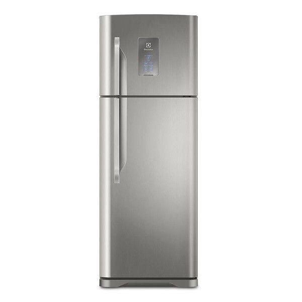 cool Geladeira Electrolux Frost Free Turbo Freezer 2 Portas TF52X 464 Litros Inox 220V 5060222