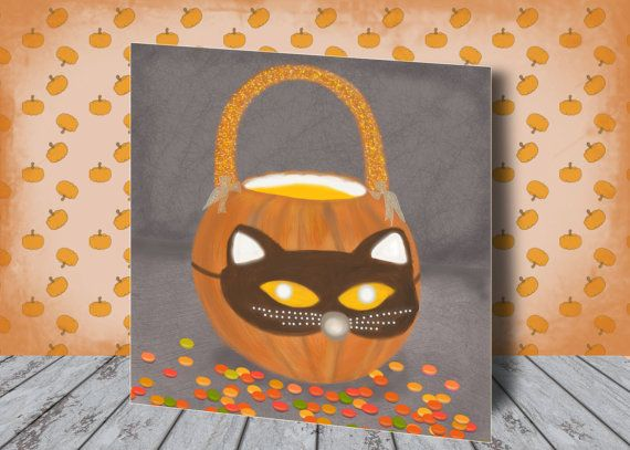 Halloween Mask  Fall Decor  October 31  Pumpkin by AfterEarth