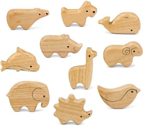 These beautiful animal shakers are perfectly sized for little hands to grasp and shake. Each animal provides a rich soothing...