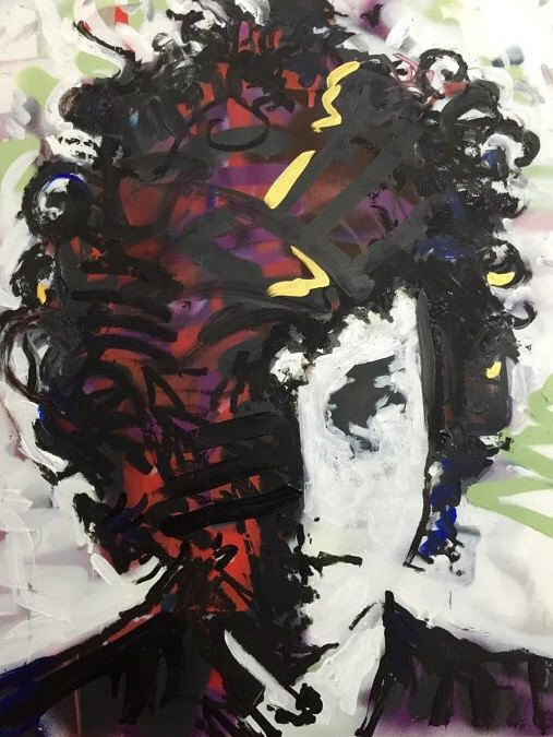 Bob Dylan Pop Art Painting by artist Matt Pecson
