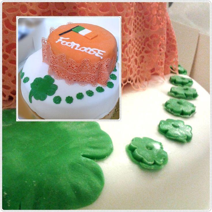 Irish cake for irish dancers