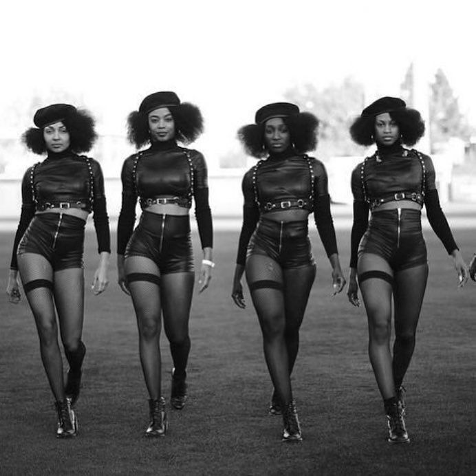The stuff Black girl dreams are made of.  Thank you Beyonce for this big stage dose of Black Girl Magic. #formation #superbowl #beyonce #blackgirlmagic by amanda_parris