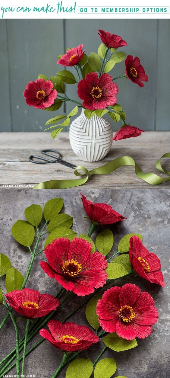 Learn how to make advanced crepe paper chocolate cosmos - Lia Griffith - www.liagriffith.com #crepepaperrevival #crepepaperflowers #crepepaper #paperflower #paperflowers #paperlove #paperart #papercraft #diyinspiration #diyflowers #madewithlia