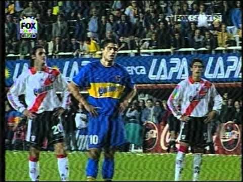 Boca-River Libertadores 2000. Regreso de palermo