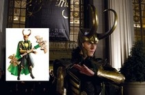 """The bad guy from """"The Avengers"""" is getting some good vibes from the action figures that bear his likeness. @examinercom"""