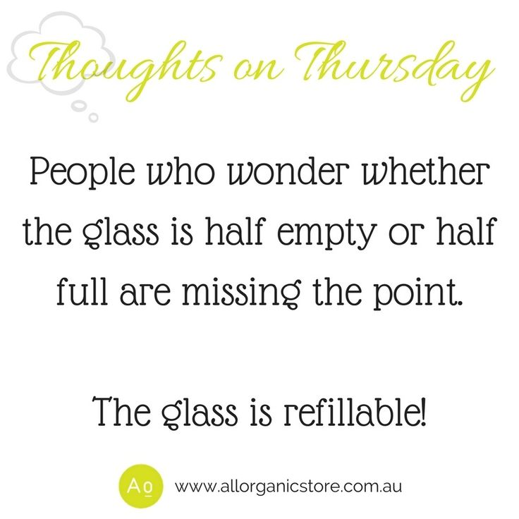 How are you going to refill? ❤️ Tune in every Thursday morning for Thoughts on Thursday. A great way to start your day.