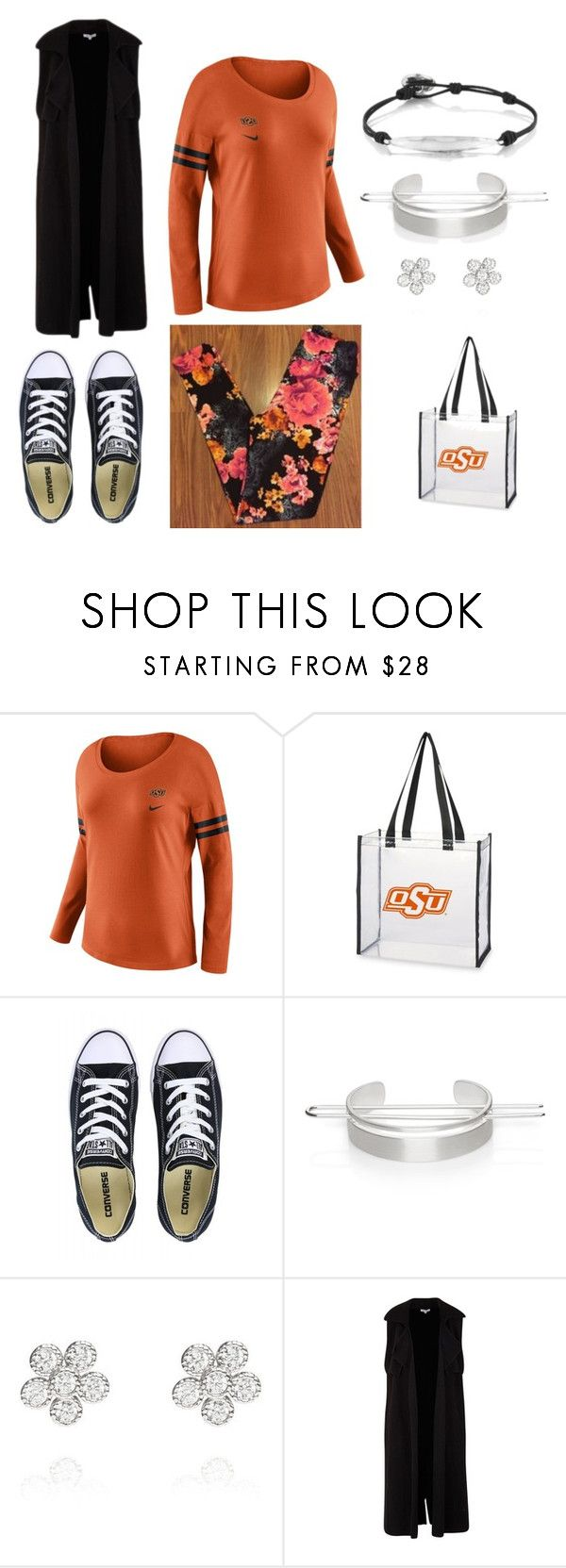 Oklahoma State Game Day by kimberly-tatum on Polyvore featuring NIKE, Converse, Chloe + Isabel and LuLaRoe