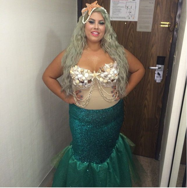 plus size mermaid costume diy halloween