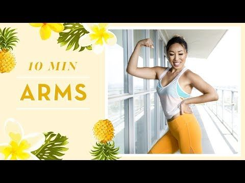 I've got a series of 5 arm toning exercises that will target your entire upper body. Yes, that means we're strengthening not just your arms but also your back, shoulders, triceps, and chest! Pretty so