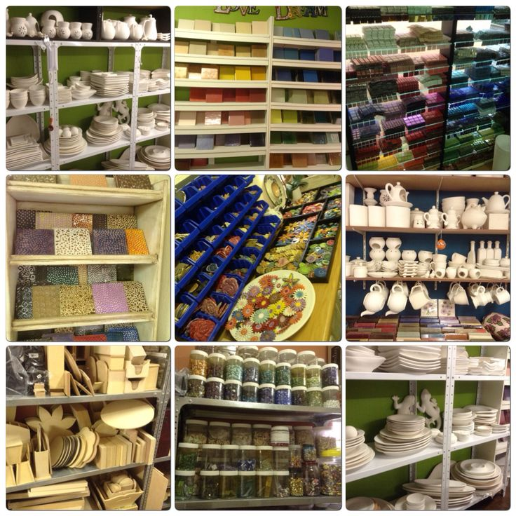 Craft supplies for mosaic, ceramics,pottery and pewter. Lisa B's Art Studio.