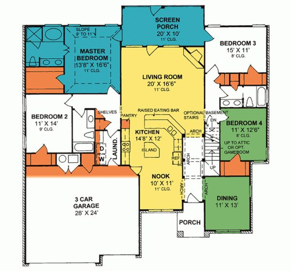 204 best house plans images on pinterest house floor for Sun country homes floor plans