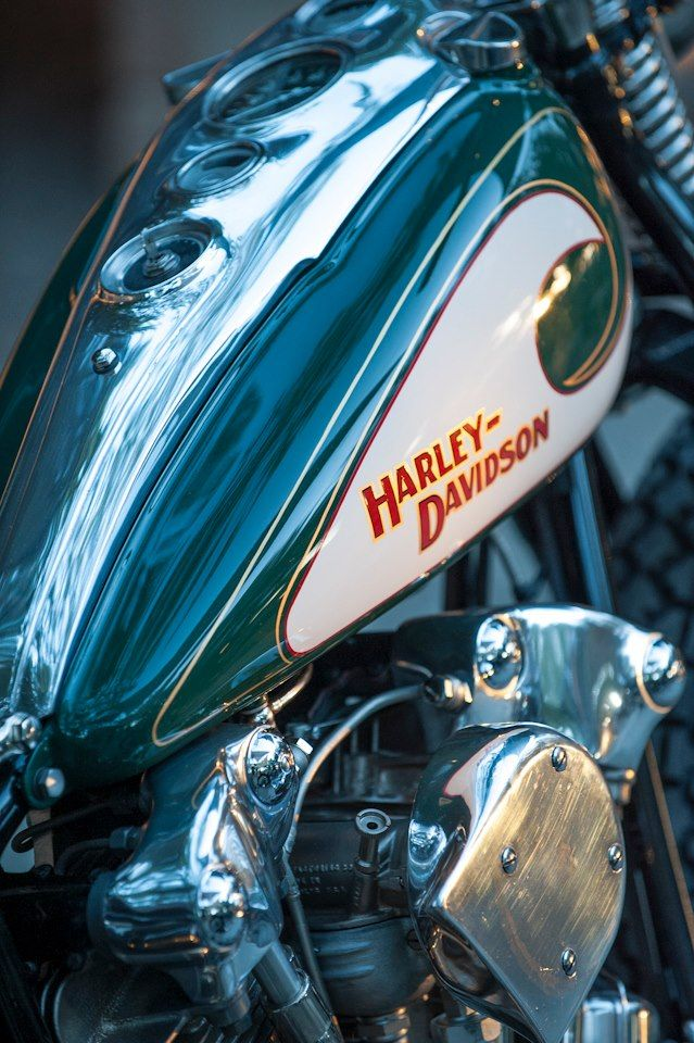"colorandthemuse: "" Matt Olsen's 1947 Harley Davidson, Best in Show at Born Free 4. """