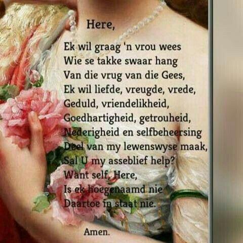 Liewe Heer ek wil graag.... #Afrikaans #Prayer #2bMe