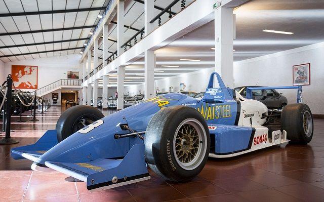 Reynard 903 de Michael Schumacher em exposição no Museu do Caramulo