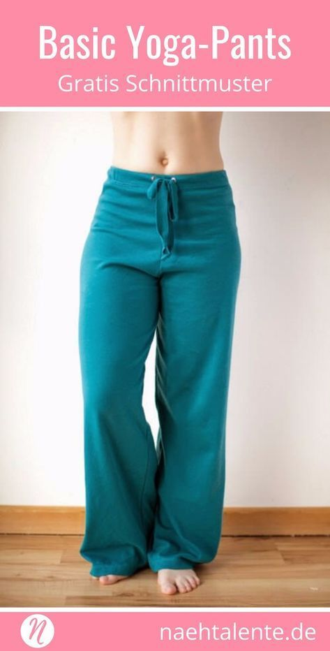 Jogginghose Freebook Gr. XS – XL – Basic Yoga Pants
