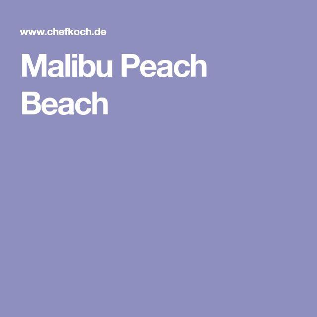 Malibu Peach Beach