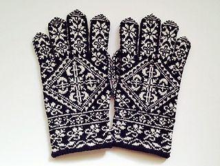 Ravelry: snoozeecow's Selbu museum gloves