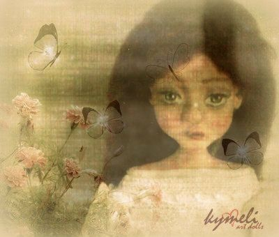 ...keep dreaming...  OOAk ArtDoll by Kymeli