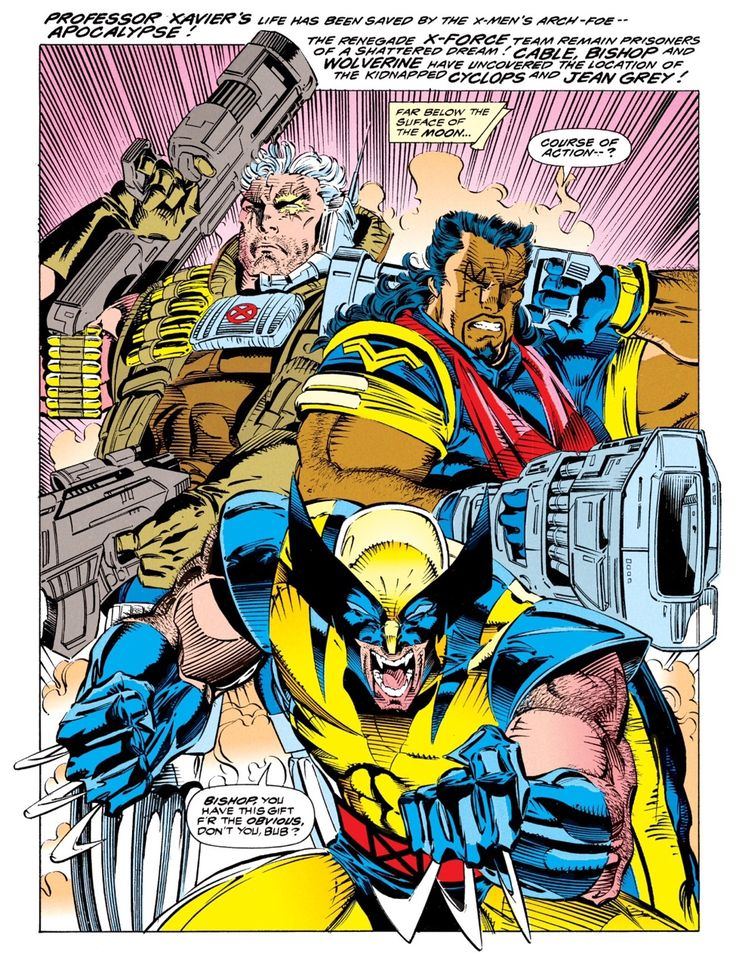 X Men Bishop Cable 17 Best images about X...