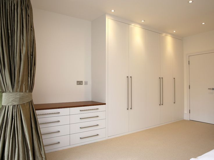 1-bespoke-built-in-fitted-wardrobe-white-chest-drawers-Modern-bedroom-furniture - Bespoke Furniture | fitted wardrobes | walk in wardrobe